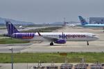 yabyanさんが、関西国際空港で撮影した香港エクスプレス A321-231の航空フォト(飛行機 写真・画像)