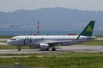 yabyanさんが、関西国際空港で撮影した春秋航空 A320-214の航空フォト(飛行機 写真・画像)