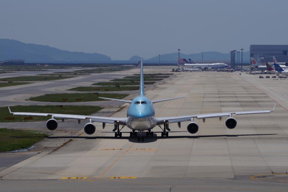 yabyanさんの大韓航空 Boeing 747-400 (HL7460) 航空フォト