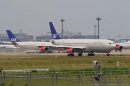 ☆ライダーさんが、成田国際空港で撮影したスカンジナビア航空 A340-313Xの航空フォト(飛行機 写真・画像)