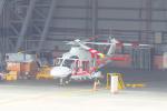 KIMISTONERさんが、台北松山空港で撮影した Emeral Pacific Airlines AW169の航空フォト(写真)