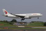 多楽さんが、成田国際空港で撮影した中国東方航空 A330-243の航空フォト(写真)