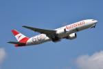 turenoアカクロさんが、成田国際空港で撮影したオーストリア航空 777-2Q8/ERの航空フォト(写真)