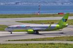 yabyanさんが、関西国際空港で撮影したジンエアー 737-8Q8の航空フォト(飛行機 写真・画像)