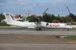 NIKEさんが、ヴェラナ国際空港で撮影したスパイスジェット DHC-8-402Q Dash 8の航空フォト(写真)
