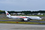 T.Sazenさんが、成田国際空港で撮影したマレーシア航空 A350-941の航空フォト(飛行機 写真・画像)