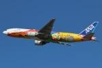 タンちゃんさんが、新千歳空港で撮影した全日空 777-281/ERの航空フォト(写真)