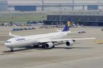 ちゃぽんさんが、羽田空港で撮影したルフトハンザドイツ航空 A340-642の航空フォト(飛行機 写真・画像)