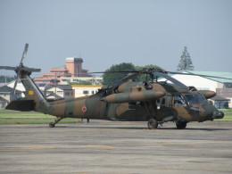 ランチパッドさんが、宇都宮飛行場で撮影した陸上自衛隊 UH-60JAの航空フォト(飛行機 写真・画像)