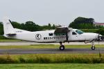 Flankerさんが、ホンダエアポートで撮影したエビエーションサービス 208B Grand Caravanの航空フォト(写真)