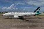 NIKEさんが、マレ・フルレ国際空港で撮影したシルクエア A320-233の航空フォト(写真)