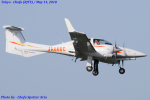 Chofu Spotter Ariaさんが、調布飛行場で撮影した日本個人所有 DA42 TwinStarの航空フォト(飛行機 写真・画像)