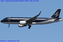 Chofu Spotter Ariaさんが、羽田空港で撮影したスターフライヤー A320-214の航空フォト(飛行機 写真・画像)