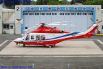 Chofu Spotter Ariaさんが、ホンダエアポートで撮影した埼玉県防災航空隊 AW139の航空フォト(飛行機 写真・画像)