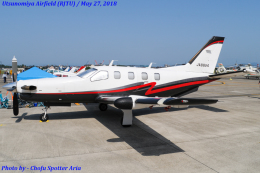 Chofu Spotter Ariaさんが、宇都宮飛行場で撮影した日本個人所有 TBM-700の航空フォト(飛行機 写真・画像)