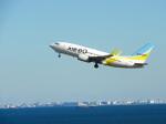 おっつんさんが、羽田空港で撮影したAIR DO 737-781の航空フォト(写真)