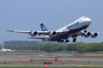 タンちゃんさんが、新千歳空港で撮影した日本貨物航空 747-8KZF/SCDの航空フォト(写真)
