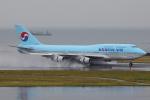 じゃりんこさんが、中部国際空港で撮影した大韓航空 747-4B5の航空フォト(写真)