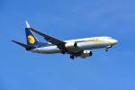 まいけるさんが、スワンナプーム国際空港で撮影したジェットエアウェイズ 737-85Rの航空フォト(写真)
