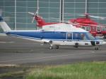 ランチパッドさんが、東京ヘリポートで撮影したファーストエアートランスポート S-76C++の航空フォト(写真)