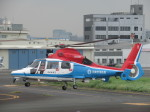 ランチパッドさんが、東京ヘリポートで撮影した川崎市消防航空隊 AS365N3 Dauphin 2の航空フォト(写真)