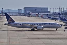 yabyanさんが、関西国際空港で撮影したユナイテッド航空 787-8 Dreamlinerの航空フォト(飛行機 写真・画像)