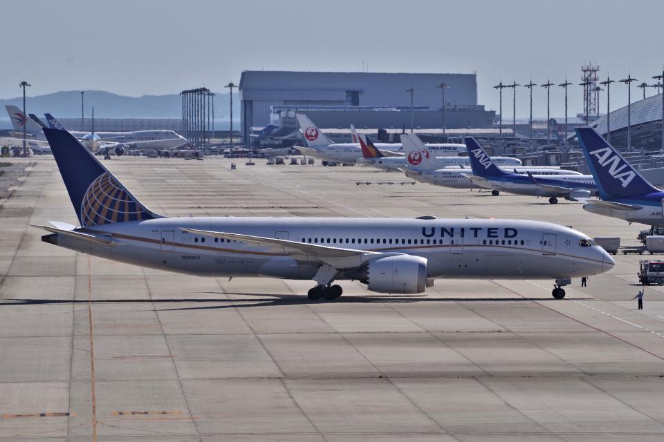 yabyanさんのユナイテッド航空 Boeing 787-8 Dreamliner (N26902) 航空フォト