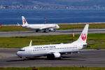 yabyanさんが、関西国際空港で撮影した日本航空 737-846の航空フォト(飛行機 写真・画像)