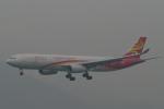 トオルさんが、香港国際空港で撮影した香港航空 A330-343Xの航空フォト(写真)
