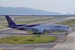 yabyanさんが、関西国際空港で撮影したタイ国際航空 A350-941XWBの航空フォト(飛行機 写真・画像)