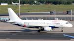 誘喜さんが、フランクフルト国際空港で撮影したエア・マルタ A319-111の航空フォト(写真)