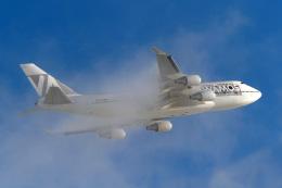 LAX Spotterさんが、ロサンゼルス国際空港で撮影したワモス・エア 747-419の航空フォト(写真)