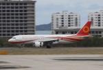 TAOTAOさんが、三亜鳳凰国際空港で撮影した成都航空 A320-214の航空フォト(写真)