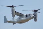 ちゃぽんさんが、岩国空港で撮影したアメリカ海兵隊 MV-22Bの航空フォト(写真)