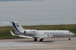ハピネスさんが、関西国際空港で撮影したビジネス・エイビエーション・サービス G500/G550 (G-V)の航空フォト(飛行機 写真・画像)