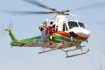 すけちゃんさんが、群馬県渋川市で撮影した群馬県防災航空隊 412EPの航空フォト(写真)