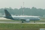 とらとらさんが、フランシスコ・デ・サカルネイロ空港で撮影したブリュッセル航空 A319-112の航空フォト(写真)