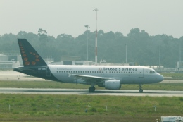 とらとらさんが、フランシスコ・サ・カルネイロ空港で撮影したブリュッセル航空 A319-112の航空フォト(飛行機 写真・画像)