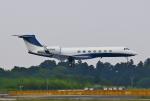 あしゅーさんが、成田国際空港で撮影したアメリカ企業所有 G-V-SP Gulfstream G550の航空フォト(飛行機 写真・画像)
