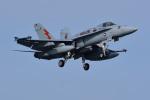 はるかのパパさんが、岩国空港で撮影したアメリカ海兵隊 F/A-18C Hornetの航空フォト(写真)