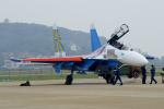 ちゃぽんさんが、珠海金湾空港で撮影したロシア空軍 Su-27UBの航空フォト(写真)