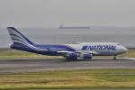 yabyanさんが、中部国際空港で撮影したナショナル・エア・カーゴ 747-428(BCF)の航空フォト(飛行機 写真・画像)