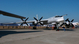 ちゃぽんさんが、ジュコーフスキー空港で撮影したロシア空軍 Tu-95MSの航空フォト(飛行機 写真・画像)