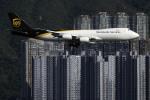 planetさんが、香港国際空港で撮影したUPS航空 747-8Fの航空フォト(写真)