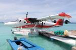 NIKEさんが、マレ・フルレ国際空港で撮影したトランス・モルジビアン・エアウェイズ DHC-6-300 Twin Otterの航空フォト(写真)