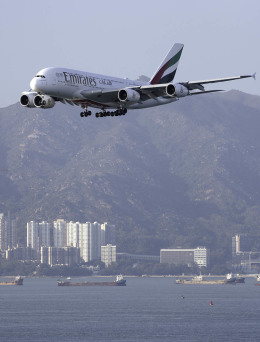 planetさんが、香港国際空港で撮影したエミレーツ航空 A380-842の航空フォト(飛行機 写真・画像)