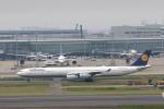 VEZEL 1500Xさんが、羽田空港で撮影したルフトハンザドイツ航空 A340-642の航空フォト(写真)