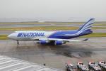 じゃりんこさんが、中部国際空港で撮影したナショナル・エア・カーゴ 747-428(BCF)の航空フォト(写真)