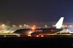 Rundy's Airgraphyさんが、羽田空港で撮影したグローバル・ジェット・オーストリア 737-7HE BBJの航空フォト(写真)