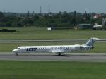 aquaさんが、ワルシャワ・フレデリック・ショパン空港で撮影したノルディカ CL-600-2D24 Regional Jet CRJ-900ERの航空フォト(写真)
